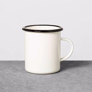 Hearth and Hand Magnolia enamel cup mug set of 2